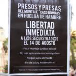 [Chile] Comunicado do/as companheiro/as em greve de fome