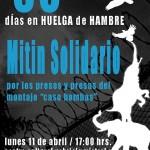 """[Chile] """"Caso bombas"""": Jornada de agitação e propaganda a partir de 14 de abril"""
