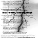 [Itália] 5 anarquistas presos, 26 investigados e 60 invasões
