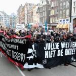 Na terça-feira, 22 de março, a cidade de Amsterdã assistiu a uma grande onda de despejos.
