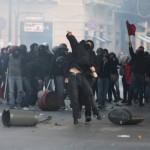 Antifascistas protestam contra a apresentação de um livro fascista em Palermo. Ação antifascista em Parma e na Sicília.