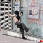 Protesto anti-G8 na França