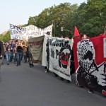 [Alemanha] Manifestantes realizam marcha antifascista em Berlim