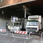 [Itália] Caminhão de transporte de carne é incendiado em Pistoia