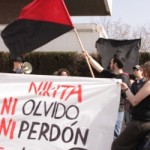 [Espanha] CNT-AIT Madri realiza concentração para protestar contra o assassinato do jovem anarquista Nikita
