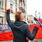 [Ucrânia] Anarquistas saem às ruas de Kiev contra o capitalismo