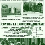[Espanha] Crônica da 5ª Marcha ciclística contra a indústria militar
