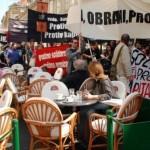 [Croácia] M31: Protesto anticapitalista em Zagreb