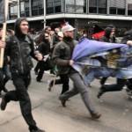 [Holanda] Centenas de pessoas protestam contra capitalismo nas ruas de Utrecht