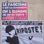 [França] 20 militantes antifascistas detidos: o Estado protege agora a extrema-direita em Paris