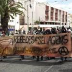 """[Portugal] Lisboa: Crônica da manifestação antiautoritária """"Na rua com todos"""""""