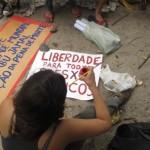 [Brasil] Em Fortaleza, manifestantes exigem libertação de Mumia Abu-Jamal!
