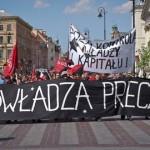 [Polônia] Varsóvia: Resumo da manifestação anarquista do 1˚ de Maio