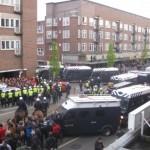 [Holanda] Amsterdã: Polícia reprime passeata anarquista e detém pelo menos 23 manifestantes