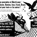 [França] Julgamento antiterrorista contra 6 compas em Paris, de 14 a 22 de maio