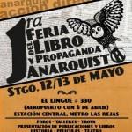 [Chile] Santiago: 1ª Feira do Livro e Propaganda Anarquista acontece neste fim de semana