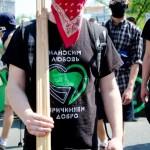 [Ucrânia] Ato anarquista do 1˚ de maio reúne centenas de pessoas em Kiev