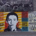 [Colômbia] Mural em memória do anarquista Nicolás Neira é sabotado