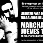 [Uruguai] Liberdade para David Lamarte, anarquista preso em Montevidéu
