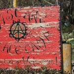 Welcome Faslane peace camp