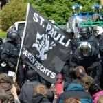 [Alemanha] Hamburgo: Fuck nazis, no pasarán!