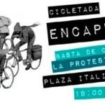 """[Chile] """"Cicletada encapuzada"""" agita as ruas de Santiago"""