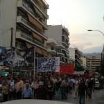 [Grécia] Kalamata: manifestação antifascista e proibição de celebração de um festival neonazista