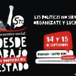 [Argentina] Chamada para o V° Encontro Social desde abaixo e por fora do Estado