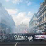 [França] Paris: Relato da passeata antifascista em homenagem a Clément Méric