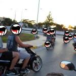 [Grécia] Segunda passeata antifascista de motos em Preveza