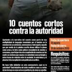 """[Colômbia] Chamada para colaborar na edição do livro """"10 contos curtos contra a autoridade"""""""