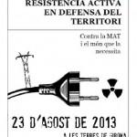 [Espanha] Chamado para acampada de resistência ativa contra a MAT