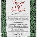 [Argentina] Buenos Aires: Feira do Livro Anarquista acontece em novembro