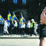 Neonazistas são atacados em Estocolmo durante marcha da extrema-direita sueca