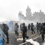 [México] Mais de 3600 policiais para desalojar os professores da Praça do Zócalo