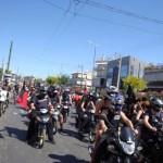 [Grécia] Marcha motorizada em solidariedade às okupas em Atenas