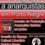 Comunicado sobre a invasão da polícia ao Centro de Cultura Libertária da Azenha, em Porto Alegre