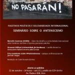 """Seminário sobre """"Antifascismo"""" acontece dia 22 de outubro na Unirio"""