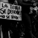 [Uruguai] Folheto distribuído pela Coordenação Contra os Megaprojetos na passeata em defesa da Terra, da Água e da Vida em Montevidéu