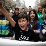 [Grécia] Tessalônica: 15 mil pessoas protestam contra a mineração de ouro em Calcídica
