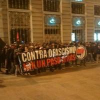 [Espanha] Galícia: Manifestação antifascista pelas ruas de Coruña