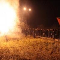 [Grécia] Crônica da concentração solidária na prisão de Larissa, em solidariedade ao preso em greve de fome Spyros Stratouli