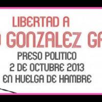 [México] Comunicado de Mario González, em 47 dias de greve de fome