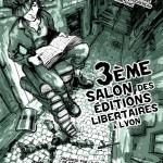 [França] 3º Salão de Edições Libertárias de Lyon acontece neste final de semana