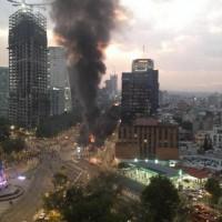 [México] Anarquistas são detidos no DF sob suspeita de queimar árvore de natal da Coca-Cola