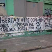[Uruguai] Manifestação em solidariedade com Mônica Caballero e Francisco Solar, em Montevidéu