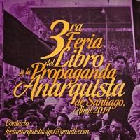 [Chile] 3ª Feira do Livro e Propaganda Anarquista de Santiago