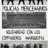 [Espanha] Concentração contra a repressão: Solidariedade com os companheiros anarquistas!