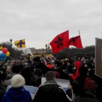 [Rússia] São Petersburgo: Manifestação contra a guerra imperialista entre Rússia e Ucrânia