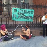 [Uruguai] Fotos da intervenção de 8 de Março da Coordenação Anti-patriarcado